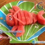 افكار لتزيين الأكل للأطفال 🍇